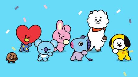 Bts Bt21 Hd Wallpapers New Tab Themes Hd Wallpapers Backgrounds