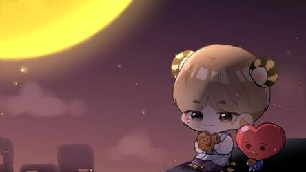 Bts Chibi Hd Wallpapers New Tab Themes Hd Wallpapers Backgrounds