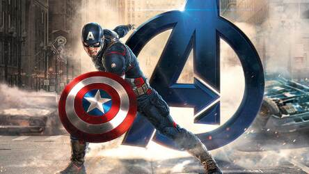 Captain America Wallpaper HD New Tab Themes | Image 1 / 40