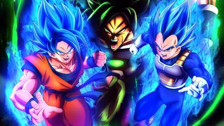 Dragon Ball Super Broly Hd Wallpapers New Tab Hd