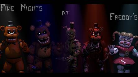 FNaF – Five Nights at Freddy's HD Wallpapers New Tab | Image 35 / 45