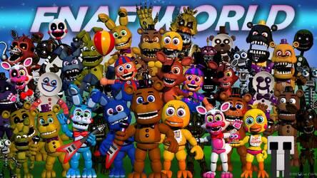 FNaF - Five Nights at Freddy's HD Wallpapers New Tab   HD