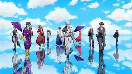 Gintama Hd Wallpaper Anime New Tab Themes Hd Wallpapers