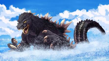 Download 60 Wallpaper Hd Godzilla Gratis Terbaru