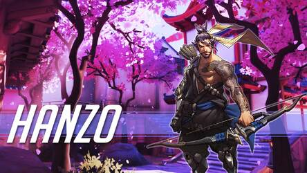 Overwatch Hanzo Hd Wallpapers New Tab Themes Hd Wallpapers