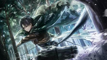 Attack On Titan Levi Hd Wallpapers New Tab Hd Wallpapers