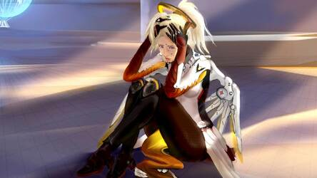 Mercy Wallpaper Overwatch Hd New Tab Themes Hd Wallpapers