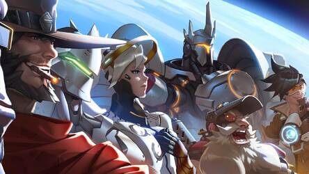 Overwatch Wallpapers Hd New Tab Themes Hd Wallpapers
