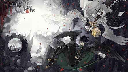 Seraph Of The End Hd Wallpaper New Tab Themes Hd