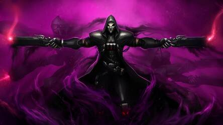 Overwatch Reaper Hd Wallpaper New Tab Themes Hd Wallpapers