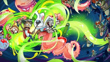 Rick And Morty Wallpaper HD New Tab