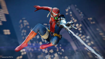 Marvel Spider Man Ps4 Hd Wallpaper New Tab Hd Wallpapers