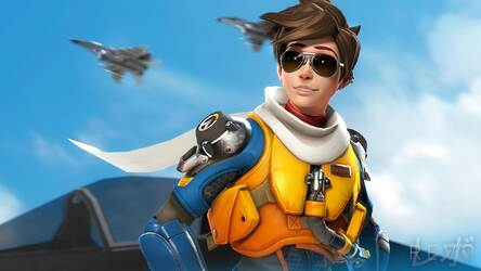 Overwatch Tracer Hd Wallpaper New Tab Themes Hd Wallpapers