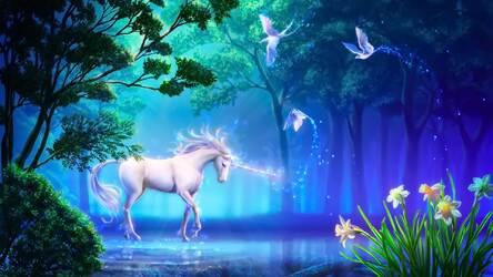 Unicorn Wallpaper HD Magic Horse Fairy Themes | HD