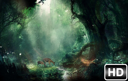 forest wallpaper hd new tab themes free addons