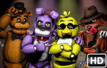FNaF – Five Nights at Freddy's HD Wallpapers New Tab