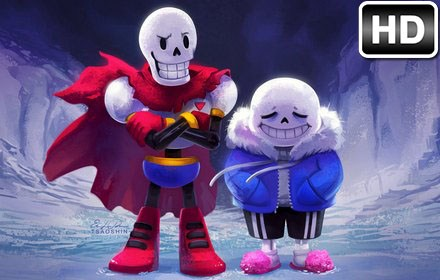 Undertale Sans Papyrus HD Wallpapers New Tab - Free Addons