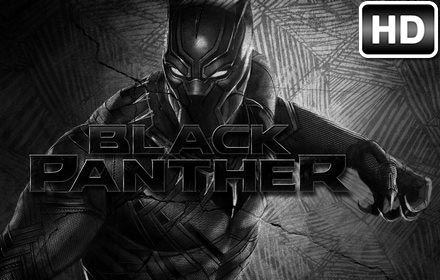 Black Panther Wallpaper HD New Tab Themes - Free Addons