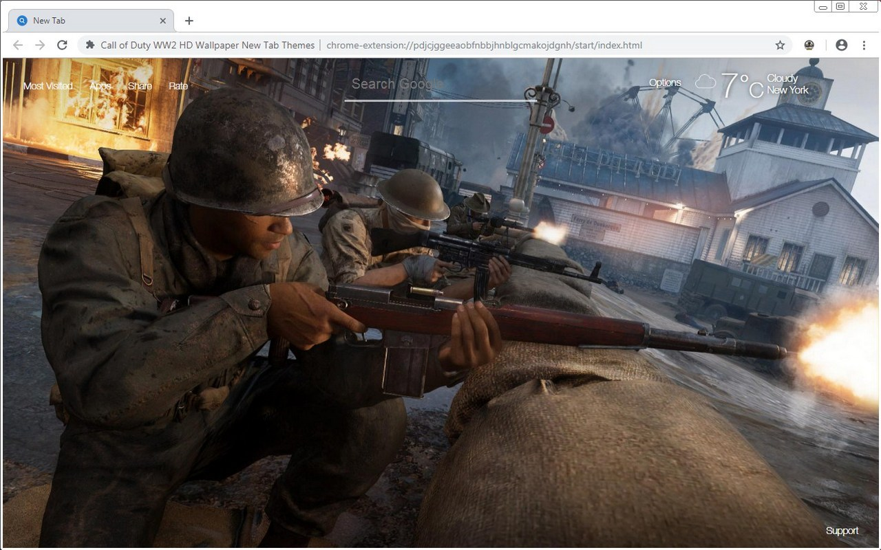 Call Of Duty Ww2 Hd Wallpaper New Tab Themes Hd Wallpapers