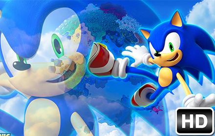 Sonic Wallpaper Hedgehog Hd New Tab Themes Free Addons
