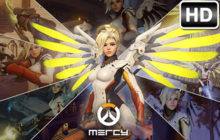 Mercy Wallpaper Overwatch HD New Tab Themes