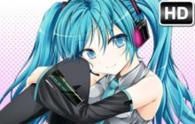Hatsune Miku Wallpaper HD Vocaloid New Tab