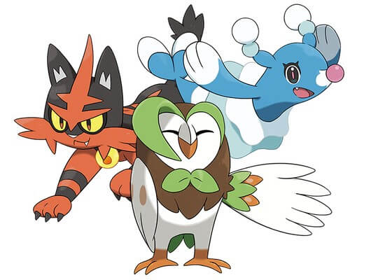 Which Pokemon Sun and Moon Starters and Evolutions is the Best?
