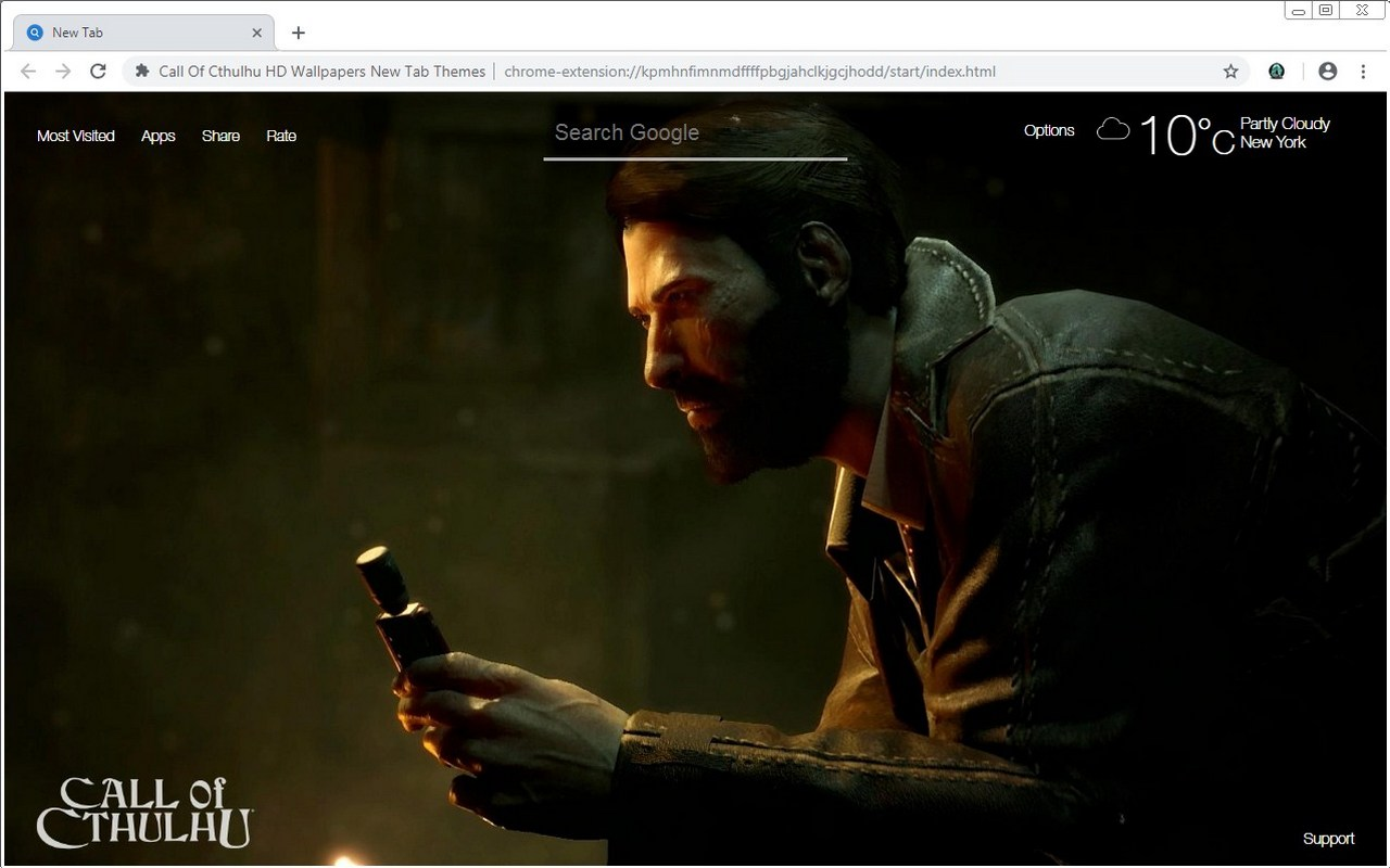 Call Of Cthulhu HD Wallpapers New Tab Themes