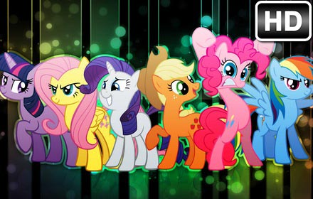 My Little Pony Wallpaper Hd New Tab Themes Free Addons