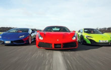 Supercars! Lamborghini Huracan vs Ferrari 488 GTB vs McLaren 720S