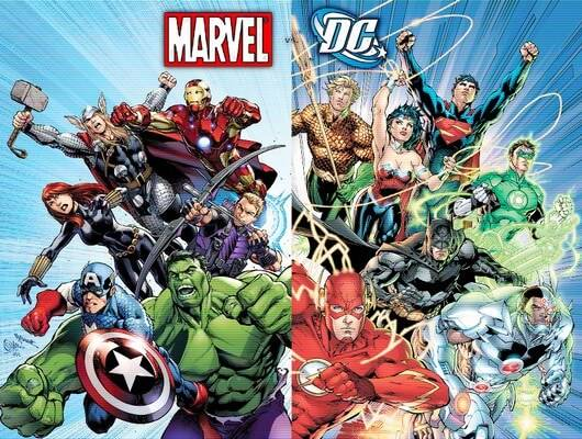 marvel comics or dc