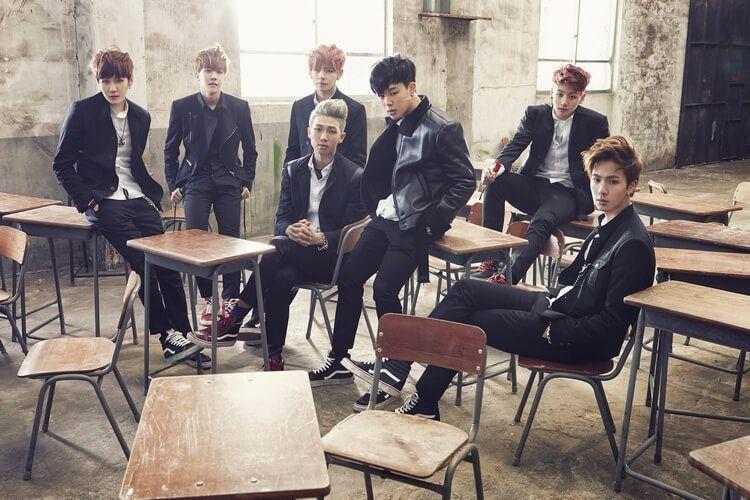 BTS Bangtan Boys Members 0