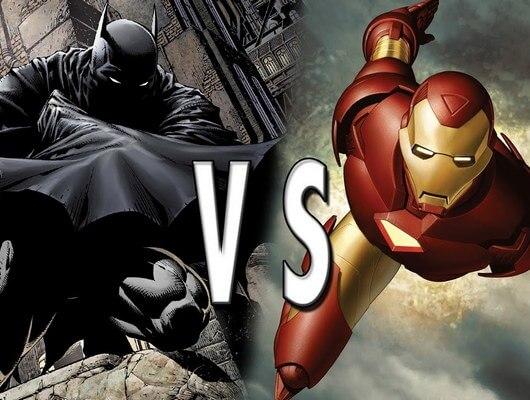 The Battle Between World S Smartest Men Batman Vs Iron Man