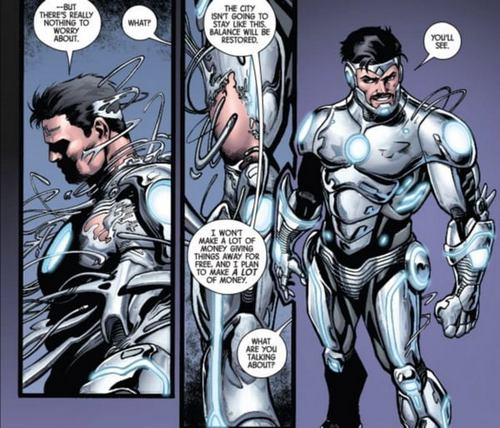 batman vs iron man 4