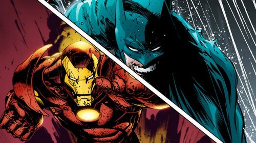 batman vs iron man 6