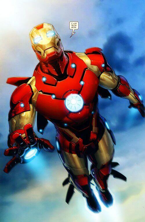 batman vs iron man 8