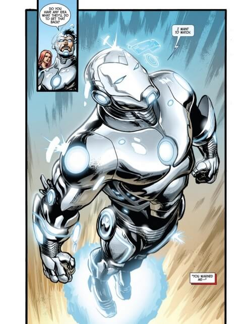 batman vs iron man 9