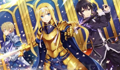 sword art online alicization 3