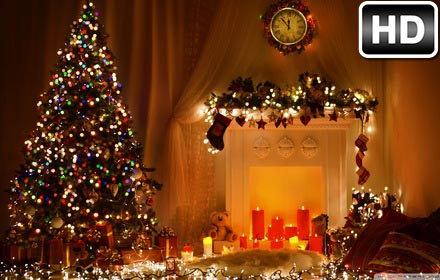 christmas countdown hd wallpaper new tab free addons