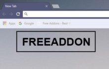 Free Addon Dark Blue Chrome Themes