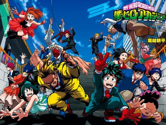 Young Heroes Assemble! Boku No Hero Academia All Class 1-A