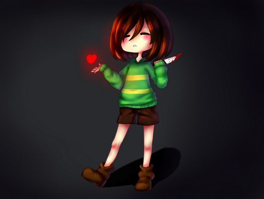 The True Identity Of Chara An Evil Or An Innocent Child