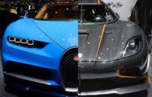 Koenigsegg Agera RS vs Bugatti Chiron: Battle of Blazing Speed!