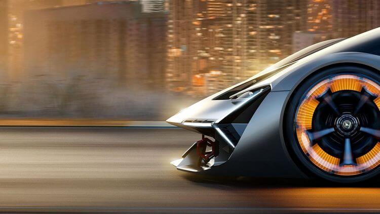 Warping To The Future Lamborghini Terzo Millennio