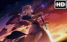 Fate Stay Night HD Wallpaper Anime New Tab