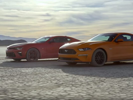 Battle Of The Brawn 2018 Chevrolet Camaro Ss Vs 2018 Ford Mustang Gt