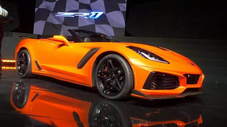 2018 chevrolet corvette zr1 2