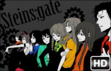 Steins Gate HD Wallpaper Anime New Tab Themes