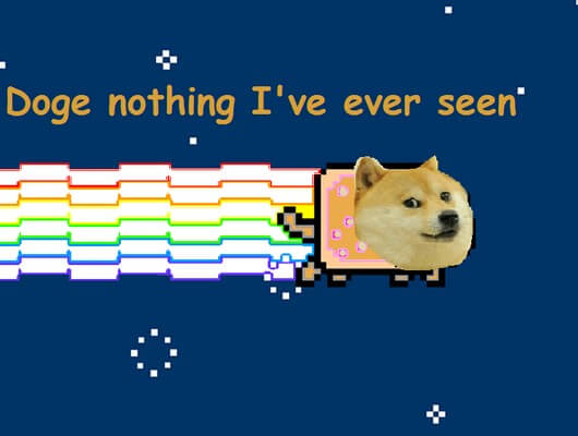 A Meme S Story Doge And Nyan Cat