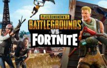 Fortnite vs PUBG: A Battle Royale Games's Battle!
